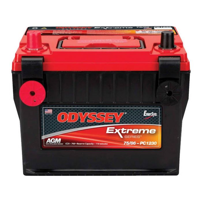 Odyssey 75/86-pc1230 Batteria Agm Extreme Series Nd