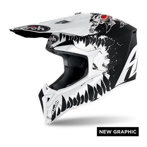 Casco Off Road Airoh Wraap Beast Matt