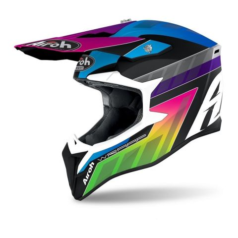Casco Off Road Airoh Wraap Prism Matt