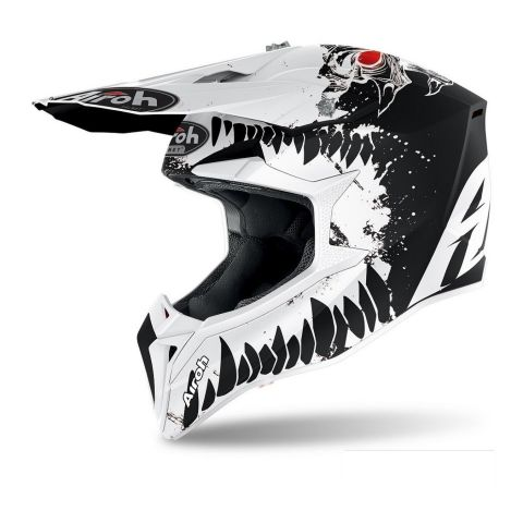 Casco Airoh Off Road Wraap Youth Beast Matt