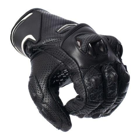 Guanti In Pelle Spyke Tech Sport Vented 2.0 Black