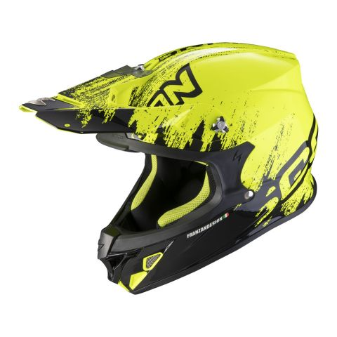 Casco Off Road Scorpion Vx-21 Air Mudirt Black Neon Yellow
