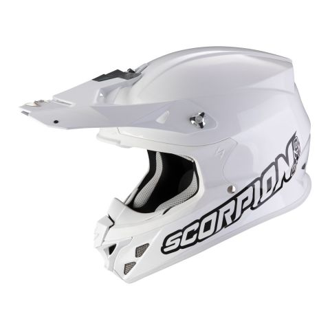 Casco Off Road Scorpion Vx-21 Air Solid White