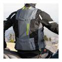 Gilet Motoairbag Mab V3 Fast Loock Airbag Anteriore E Posteriore Grey Black Fluo