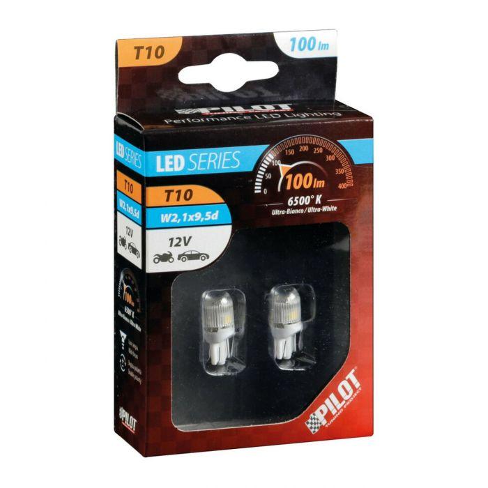 Lampadine Al Led Lampa 12v Mega-led 3 - 2 Pz - Bianco
