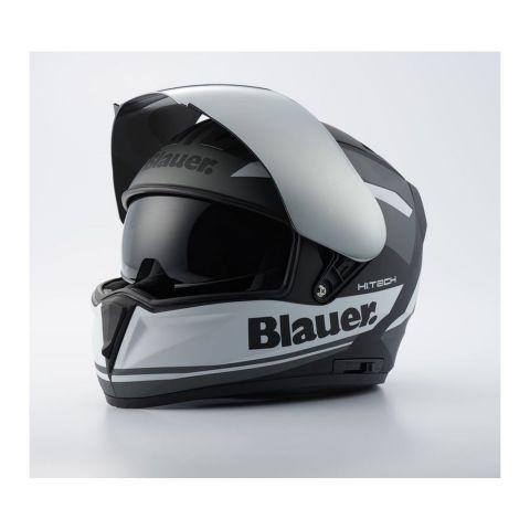 Casco Integrale Blauer Sniper A Graphic Black Matt/titanium/