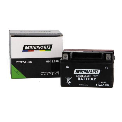 Batteria Motorparts Ytx7a-bs Agm - Pronta All'uso
