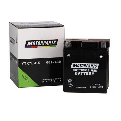 Batteria Motorparts Ytx7l-bs Agm - Pronta All'uso