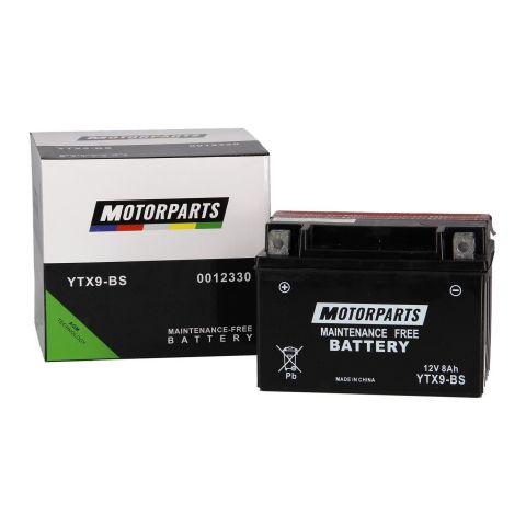 Batteria Motorparts Ytx9-bs Agm - Pronta All'uso
