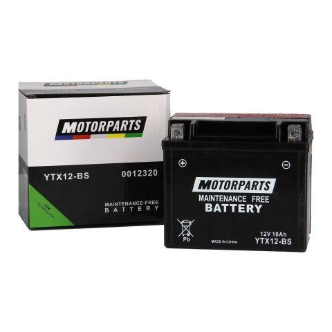 Batteria Motorparts Ytx12-bs Agm - Pronta All'uso