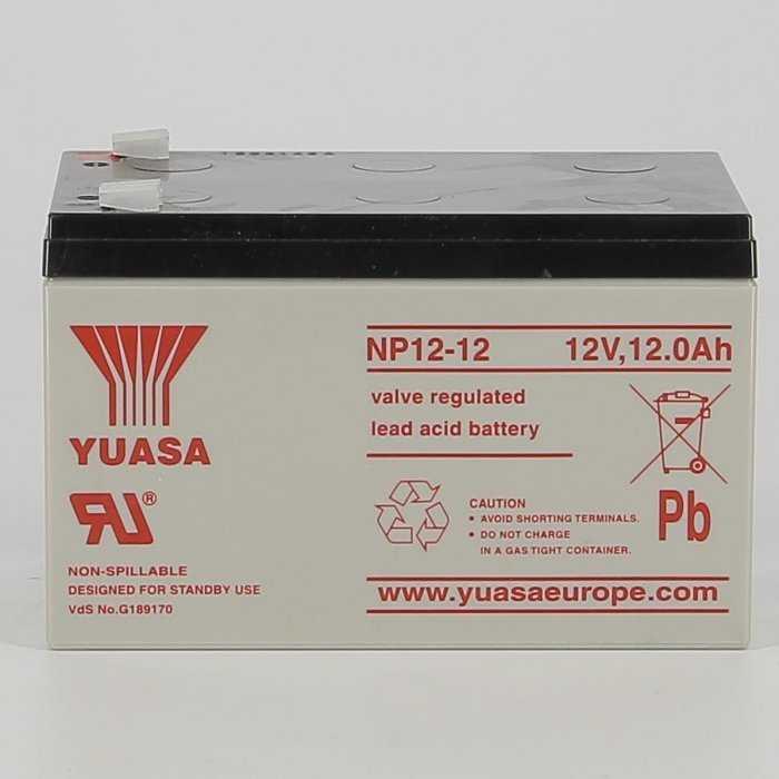 yunp1212-hd-0000.jpg| BATTERIA AL PIOMBO YUASA NP12-12 12AH 12V