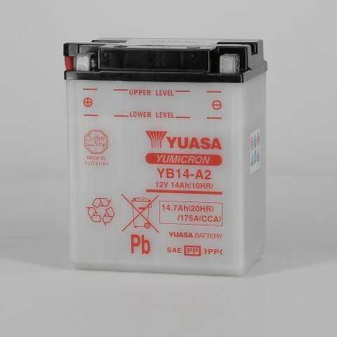 yuyb14a2-hd-0000.jpg| BATTERIA YUASA YB14-A2 12V. 14AH.
