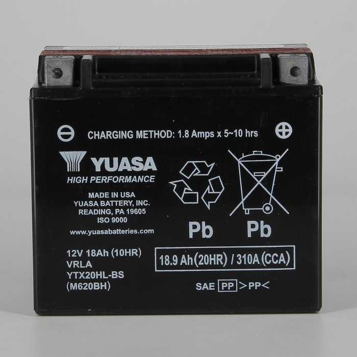 yuytx20hlbs-hd-0000.jpg| BATTERIA YUASA YTX20HL-BS 12V.