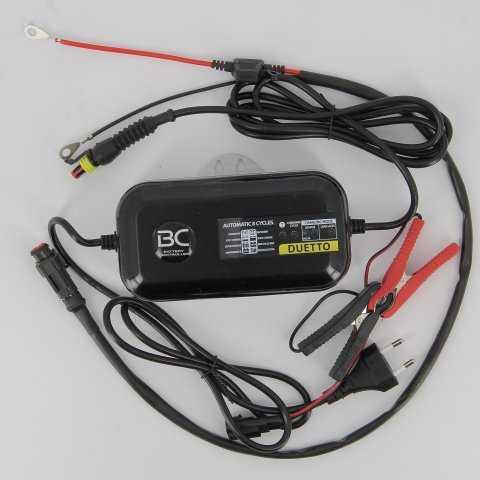 bc700bcduetto-0000.jpg| CARICA BATTERIE BATTERY CONTROLLER DUETTO LITIO E PA  2 ATT.