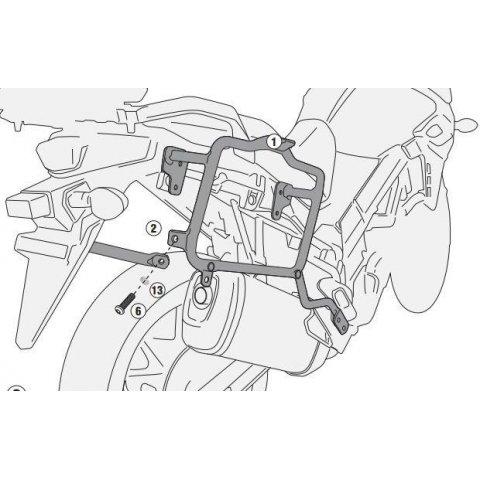 GIPL3112.jpg| PORTAVALIGIE LATERALE SUZUKI DL650-VSTROM (2017)