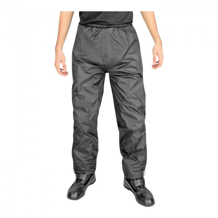 Pantalone Impermeabile Oj Down Con Apertura Nero