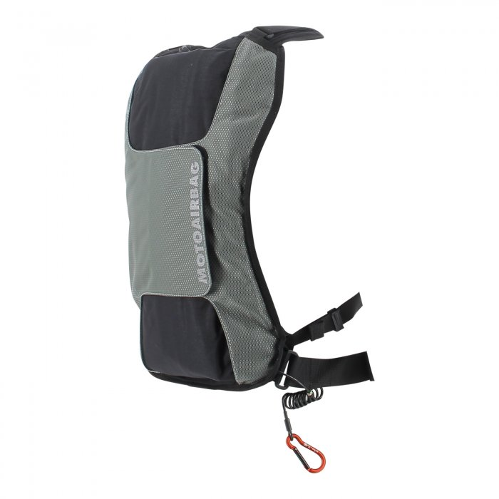 Motoairbag Vzero Stile Zaino Metal Grey