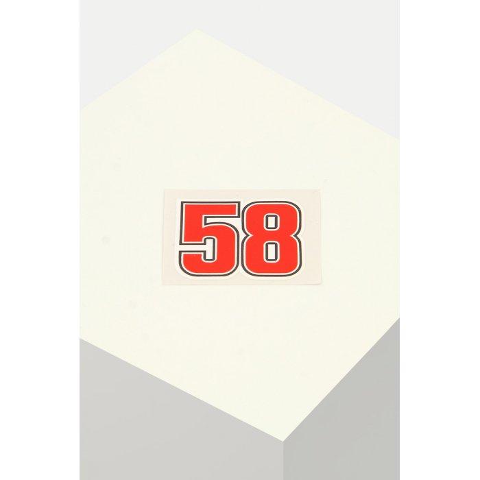Adesivo 58 Simoncelli 5x4,5