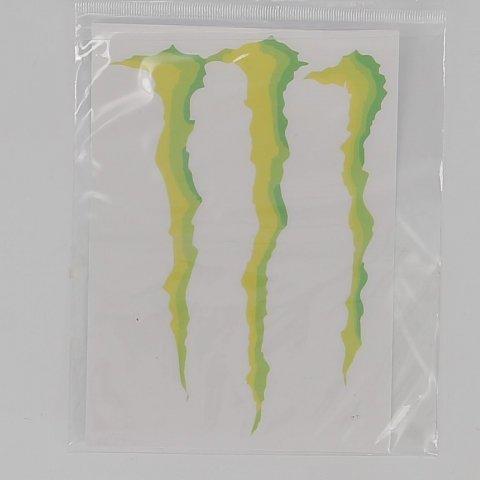 Adesivo Monster Energy Grande Cm 20x28,5