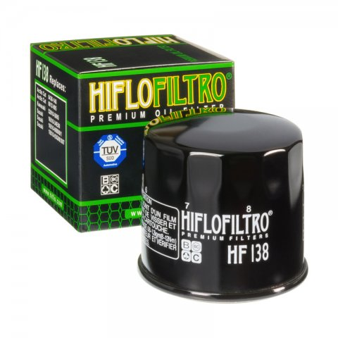 Filtro Olio Hiflo Hf138b Suzuki Gsx-r 600 Dl V-strom 1000 Cagiva Raptor