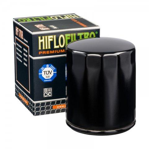 Filtro Olio Hiflo Hf170b Harley 883 Nero Senza Grafiche