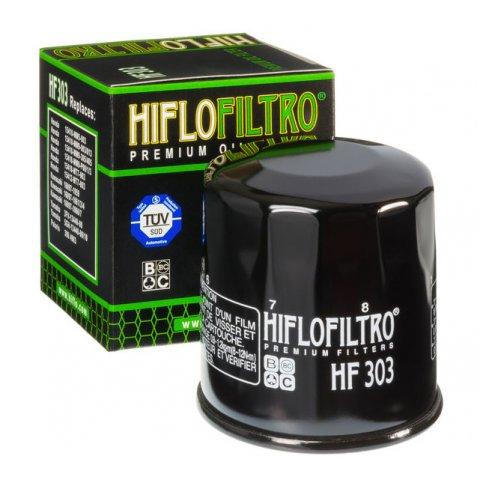 Filtro Olio Hiflo Hf303b Honda Cbr 600 -00 Transalp 600 Nero