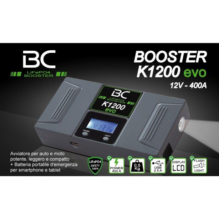 Avviatore Bc K1200 Evo 400a Digitale Con Display