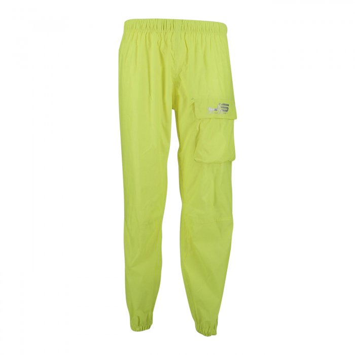 Pantalone Impermeabile Jollisport Romeo Con Zip Giallo