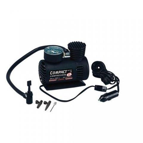 Compact, Compressore Lampa 12v Con Manometro
