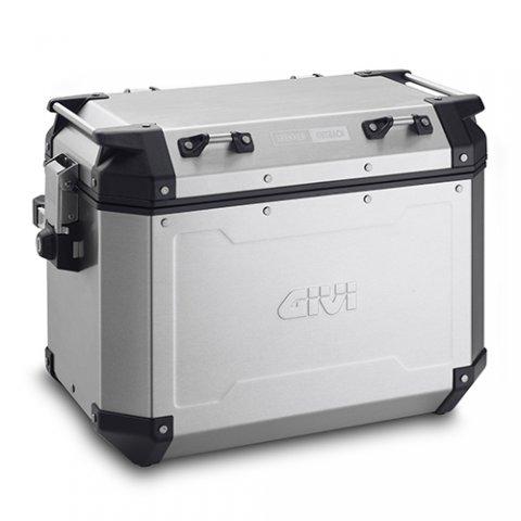Set Valigie Givi Lat. 1/48al 1/37aroutback In Alluminio New 2018