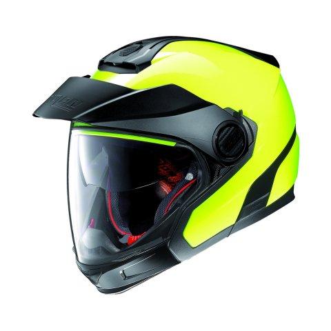 Casco Nolan N40-5 Gt Hi-visibility N-com Fluo Yellow