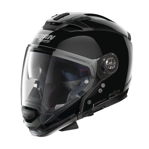 Casco Nolan N70-2 Gt Classic N-com Glossy Black
