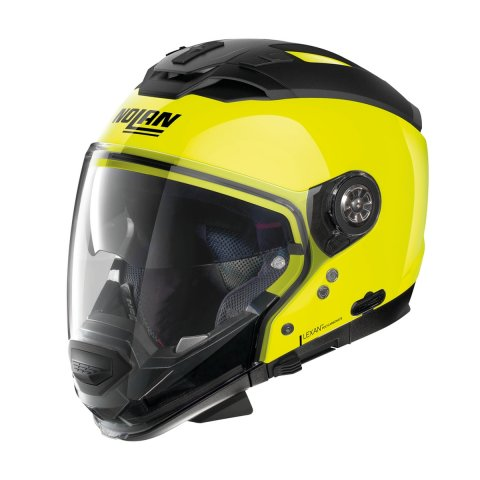 Casco Nolan N70-2 Gt Hi-visibility N-com Fluo Yellow