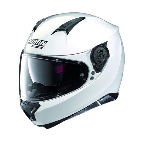 Casco Nolan N87 Special Plus N-com Pure White