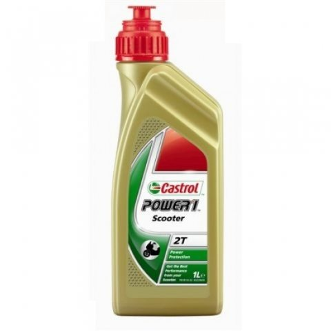 Olio Castrol Power1 Racing 2t Synt 100% Conf. 1lt
