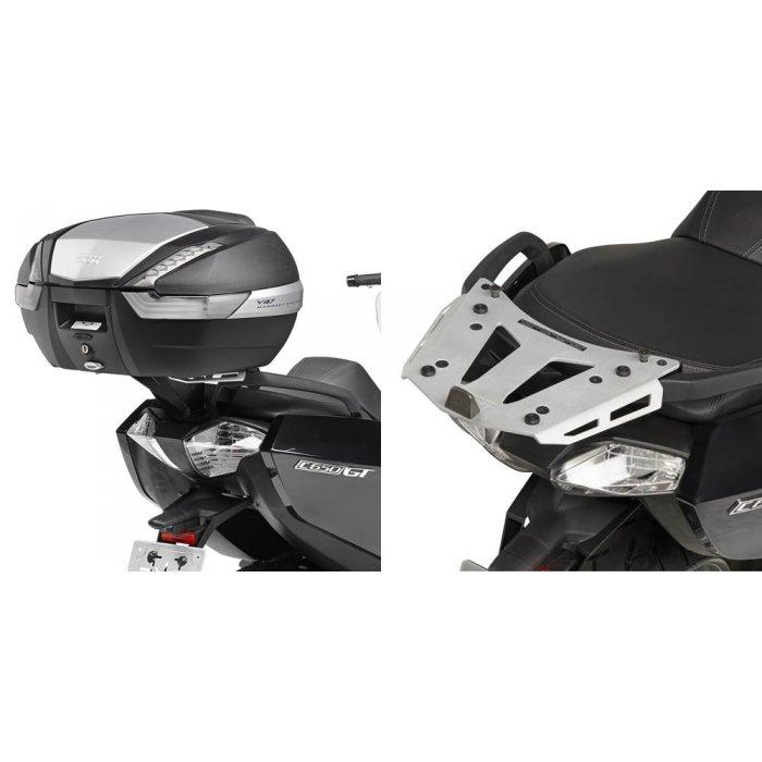 Givi Sra5106 Portapacchi Bmw C650gt In Alluminio