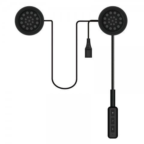 Auricolari Bluetooth Stereo Per Casco Moto Ms Link E2