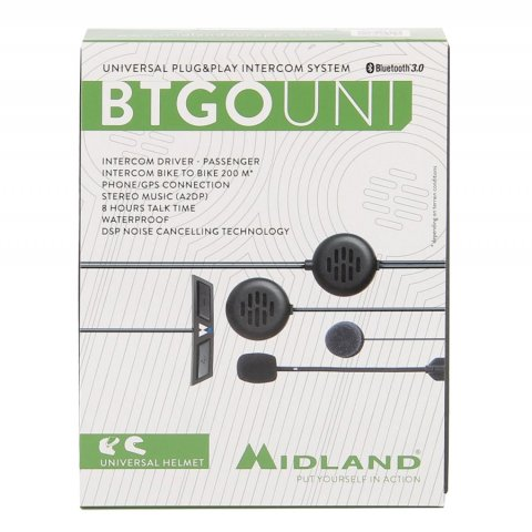 Interfono Midland Bt- Go Plug & Play Universale