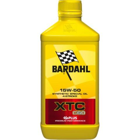 Olio Bardahl Xtc C60 15w50 Moto Conf. 1 Lt