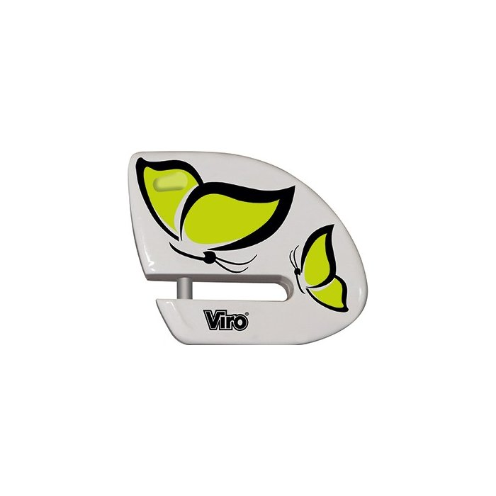 Blocca Disco Viro Shark 5.5 Mm Grafica Farfalla