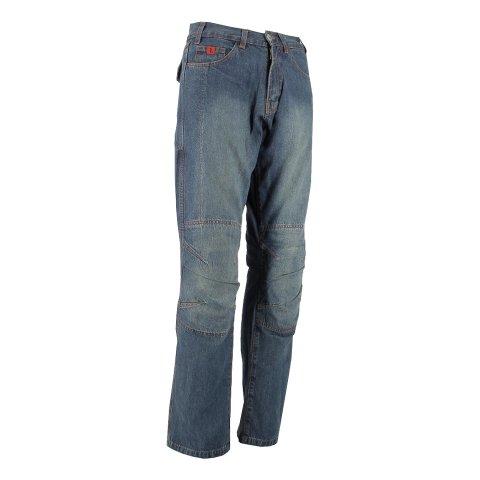 Jeans Con Protezioni Ixs Django 5 Tasche Blu