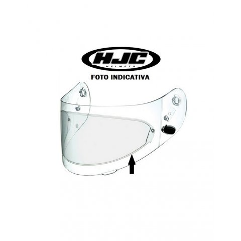 Lente Pinlock Antiappannamento Dks088 Per Hjc Is-max Ii/tr-1/fg-15