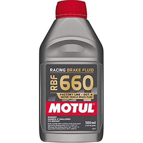 Motul Racing Brake Fluid 660 0,500l 100%sintetico Liquido Freni