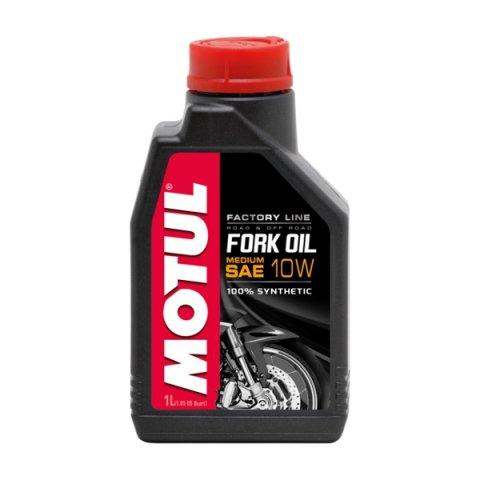 Motul Fork Oil Fl Medium 10w 1l 100%sintetico Olio Forcelle
