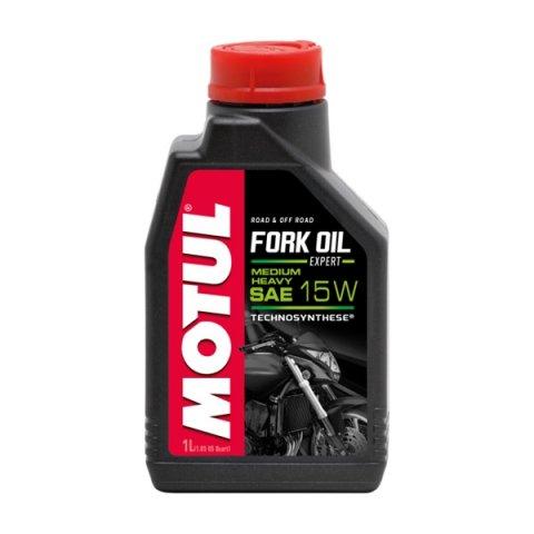 Motul Fork Oil Expert Medium/heavy 15w 1l Technosynthese Olio Forcelle