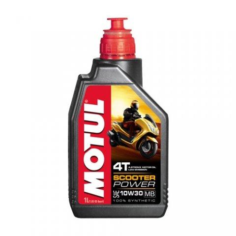 Motul Scooter Power 4t 10w-30 Mb 1l 100%sintetico