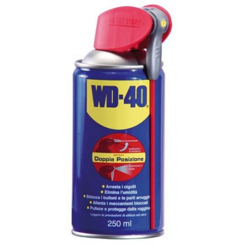 Wd-40 Spray 250ml Doppia Poisizione