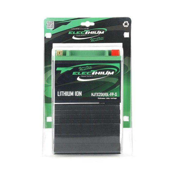 Batteria Litio Electhium Hjtx20(h)l-fp-s