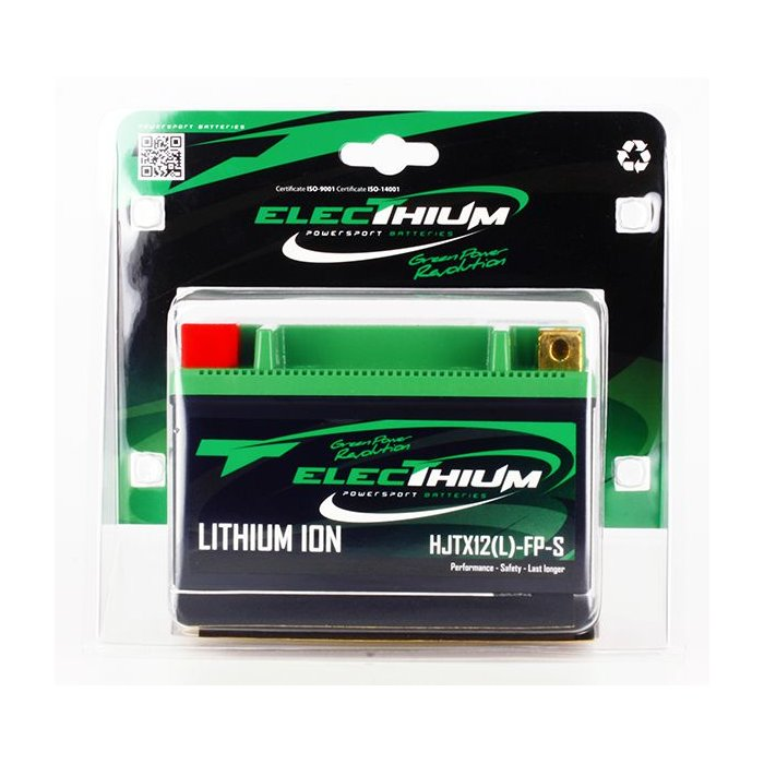 Batteria Litio Electhium Ytx12-bs / Hjtx12(l)fp-s