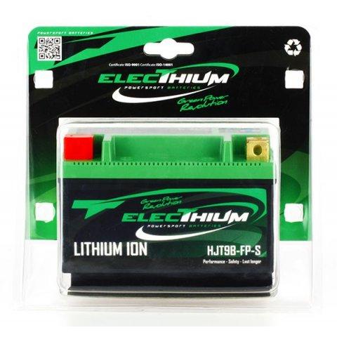 Batteria Litio Electhium Yt9b-bs / Hjt9b-fp-s